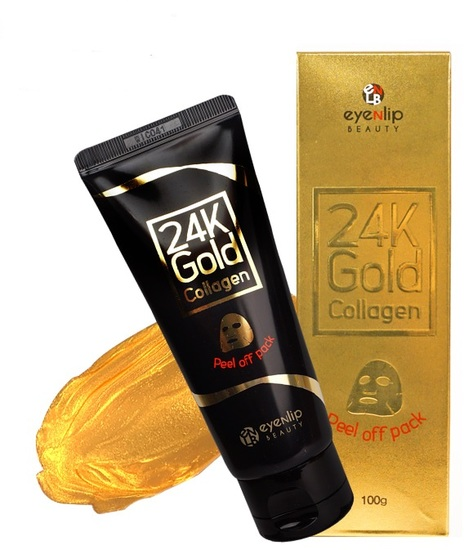 Очищающая маска-пленка с 24к золотом Eyenlip (фото)