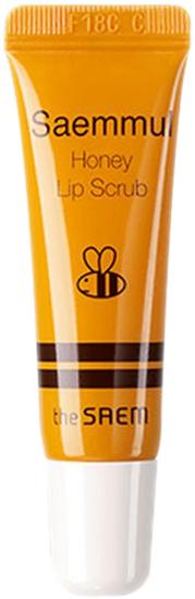 Медовый скраб для губ Saemmul Honey Lip Scrub The Saem (фото)