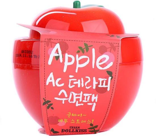 Ночная маска для проблемной кожи с экстрактом яблока Baviphat (URBAN DOLLKISS) (фото)