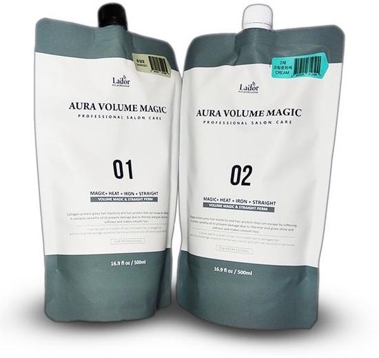 Стайлинг программа для поврежденных волос Aura Volume Magic Damaged Lador