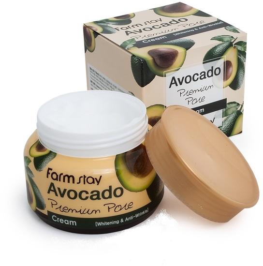 Осветляющий лифтинг-крем с экстрактом авокадо FarmStay (фото, Осветляющий лифтинг крем с экстрактом авокадо FarmStay)