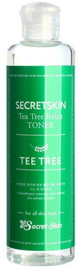 Тонер для лица с с экстрактом чайного дерева Secret Skin