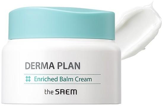 Крем-бальзам для чувствительной кожи Derma Plan Enriched Balm Cream The Saem