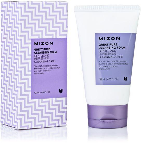 Скрабирующая пенка для очищения кожи лица Mizon (фото)