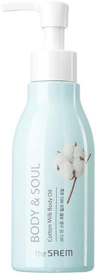 Молочное масло для тела Cotton Milk Body Oil The Saem