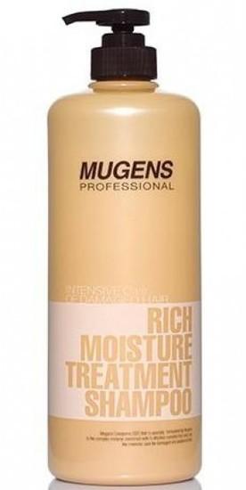 Увлажняющий шампунь для ломких волос Mugens Professional Welcos