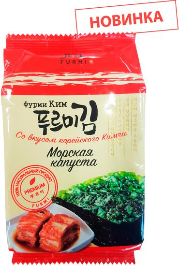 Хрустящая морская капуста со вкусом корейского Кимчи Фурми Ким (фото)