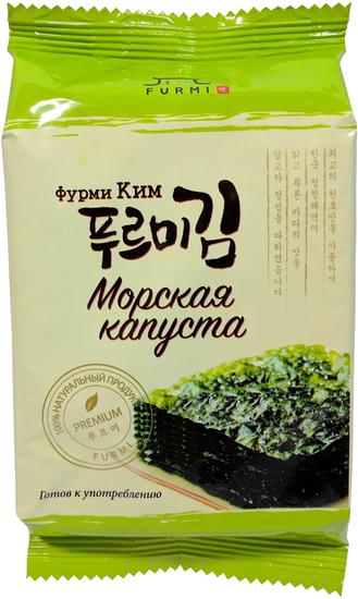 Хрустящая морская капуста с оригинальным вкусом Фурми Ким (фото)