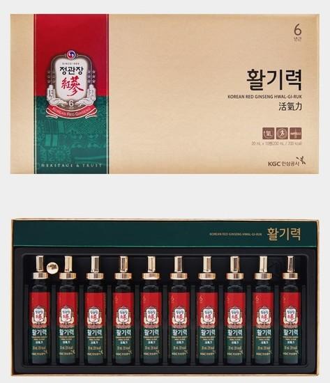 Тонизирующий напиток из корня корейского красного женьшеня Korea Ginseng Corporation (фото)