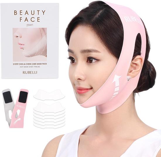 Обновленный набор масок для подтяжки контура лица Rubelli Beauty Face Premium (фото)