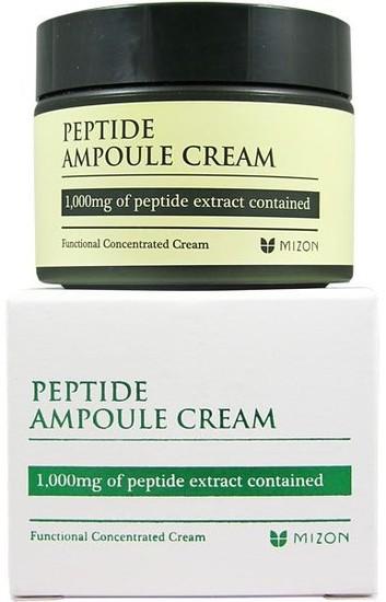 Концентрированный пептидный крем для лица Peptide Ampoule Cream Mizon (фото)
