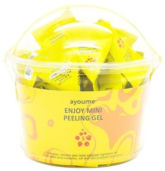 Пилинг-гель для лица в пирамиках с фруктовыми кислотами Enjoy Mini Peeling Gel Ayoume (фото)
