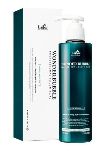 Увлажняющий шампунь для объема волос Wonder Bubble Shampoo Lador (фото, Увлажняющий шампунь lador)
