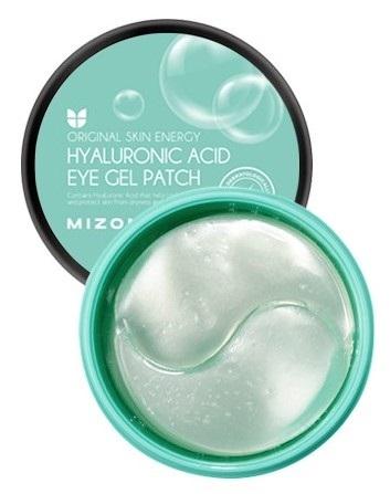 Гидрогелевые патчи под глаза с гиалуроновой кислотой Hyaluronic Acid Eye Gel Patch Mizon (фото)