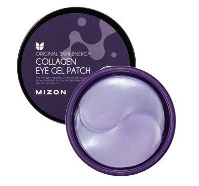 Омолаживающие гидрогелевые патчи под глаза с коллагеном Collagen Eye Gel Patch Mizon (фото)