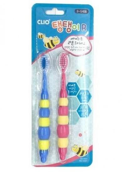 Набор детских зубных щеток Clio Tangtani Normal 2