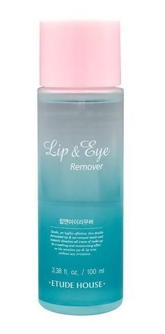 Двухфазная мягкая жидкость для снятия макияжа с глаз и губ Etude