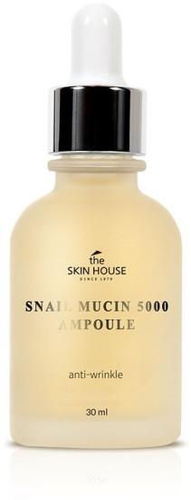 Омолаживающая ампульная сыворотка с муцином улитки Snail Mucin 5000 Ampoule The Skin House (фото)