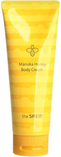 Питательный крем для тела с экстрактом меда манука Care Plus Manuka Honey Body Cream The Saem