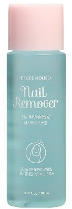 Жидкость для снятия стойкого лака Nail Remover Extra Power Etude House