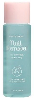 Жидкость для снятия стойкого лака Nail Remover Extra Power Etude
