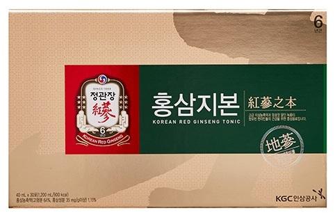 Напиток тоник из корня 6-ти летнего корейского красного женьшеня и оленьего рога Хон Сам Ди Бон Korea Ginseng Corporation (фото, Хон сам ди бон Korea Ginseng Corporation)