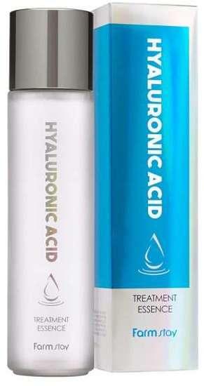 Глубоко увлажняющая эссенция с гиалуроновой кислотой Hyaluronic Acid Treatment Essence FarmStay (фото)
