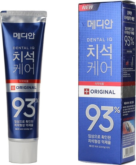 Зубная паста для эффективного удаления зубного налета Dental IQ Original Tooth Paste MEDIAN
