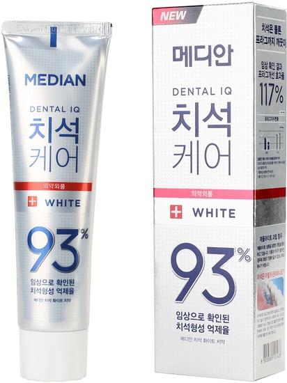 Отбеливающая зубная паста Dental IQ White Tooth Paste MEDIAN