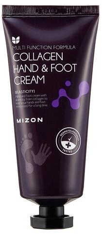 Восстанавливающий крем для рук и ног с коллагеном Collagen Hand And Foot Cream Mizon