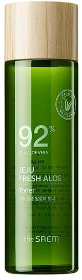Увлажняющий тонер для лица с экстрактом алоэ вера Jeju Fresh Aloe Toner The Saem