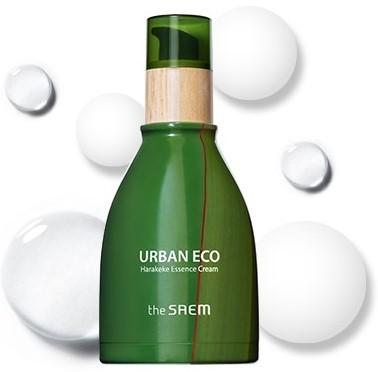 Эссенция крем 2 в 1 для лица с экстрактом новозеландского льна Urban Eco Harakeke Essence Cream The Saem (фото)