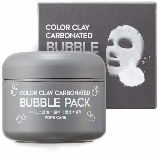 Глиняная пузырьковая маска для лица Color Clay Carbonated Bubble Pack G9SKIN (фото)