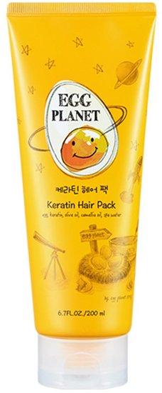 Кератиновая маска для поврежденных волос Egg Planet Keratin Hair Pack Daeng Gi Meo Ri