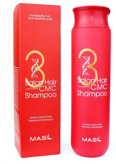 Восстанавливающий шампунь с кератином и аминокислотами 3 Salon Hair CMC Shampoo Masil (фото)