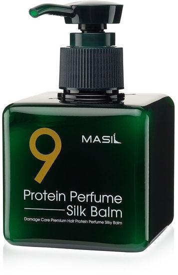 Несмываемый парфюмированный бальзам для волос с протеинами Protein Perfume Silk Balm Masil (фото)