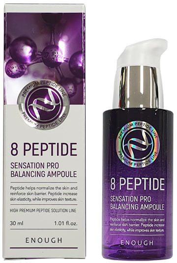 Сыворотка для лица с пептидами 8 Peptide Sensation Pro Balancing Ampoule Enough (фото)