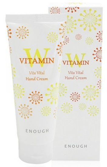 Крем для рук с витаминным комплексом W Vitamin Vita Vital Hand Cream Enough