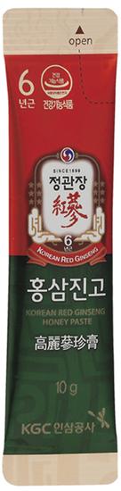 Сироп из корня корейского красного женьшеня с медом в стиках Cheong Kwan Jang Korea Ginseng Corporation (фото)