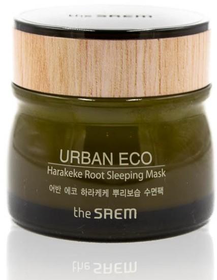 Ночная маска для лица с экстрактом новозеландского льна Urban Eco Harakeke Root Sleeping Mask The Saem (фото)