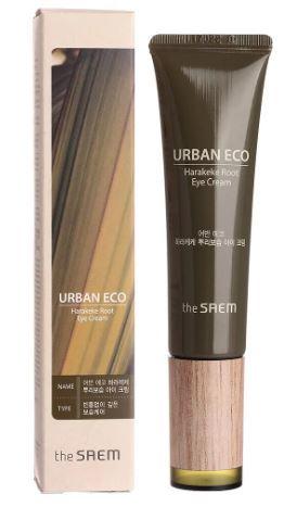 Крем для глаз с экстрактом корня новозеландского льна Urban Eco Harakeke Root Eye Cream The Saem (фото)