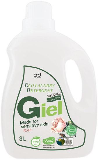 Концентрированный ЭКО гель для стирки для чувствительной кожи с ароматом розы GIEL Super Power (фото)