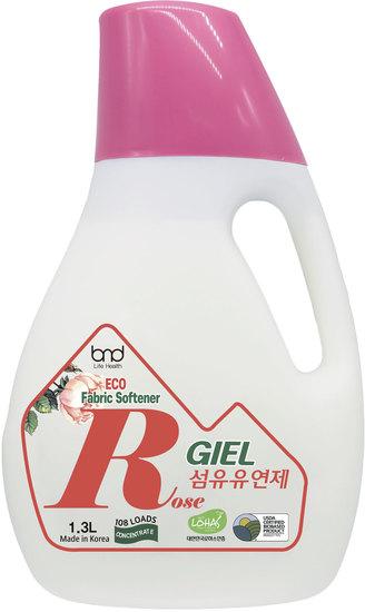 Концентрированный ЭКО кондиционер для белья с ароматом розы GIEL Fabric Softener Rose
