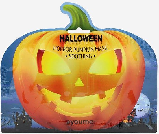 Успокаивающая тканевая маска для лица Halloween Horror Pumpkin Mask Soothing Ayoume (фото)