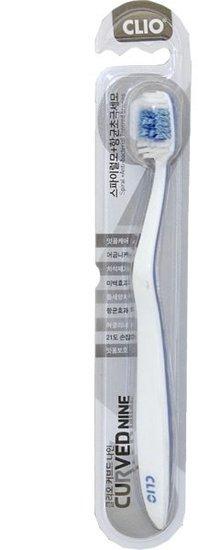 Зубная щетка с отбеливающим эффектом CLIO Curved Nine Mixed Fine Toothbrush (фото)