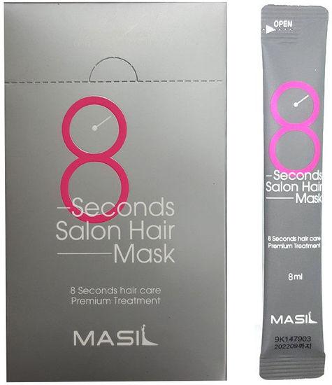Маска для быстрого восстановления волос в саше 8 Seconds Salon Hair Mask Masil (фото)