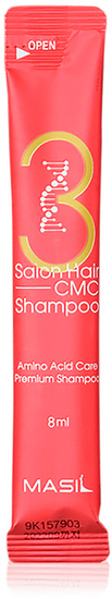 Восстанавливающий шампунь с аминокислотами в саше 3 Salon Hair CMC Shampoo Masil (фото)