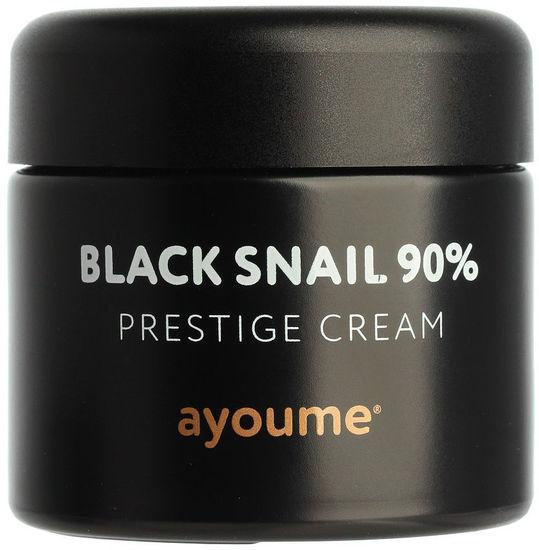Крем для лица c муцином черной улитки Black Snail Prestige Cream Ayoume (фото)