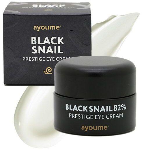 Крем для глаз муцином черной улитки Black Snail Prestige Eye Cream Ayoume (фото)