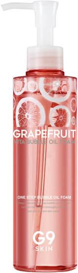 Пенка - масло для умывания с экстрактом грейпфрута Grapefruit Vita Bubble Oil Foam G9SKIN (фото)